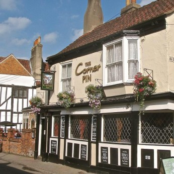 Corner Pin, York