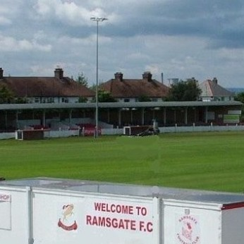 Click to view full size - Ramsgate Football Club, Ramsgate(photograph number 1)