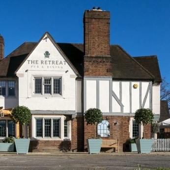Click to view full size - Retreat, Staines(photograph number 1)
