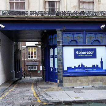 Generator Hostel, London WC1