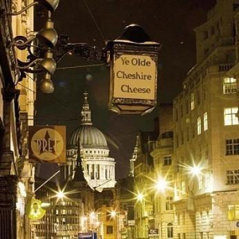 Ye Olde Cheshire Cheese, London EC4A