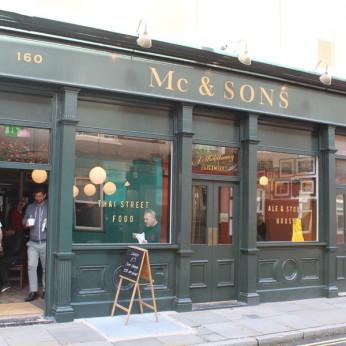 Mc & Sons, London SE1