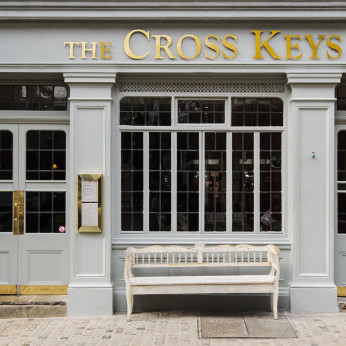 Click to view full size - Cross Keys, London(photograph number 1)