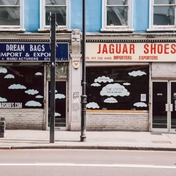 Dream Bags & Jaguar Shoes, London E2