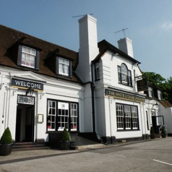 White Lyon & Dragon, Worplesdon