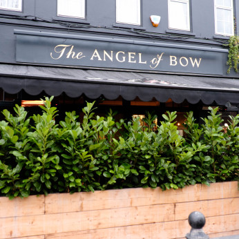 Click to view full size - Angel of Bow, London(photograph number 1)