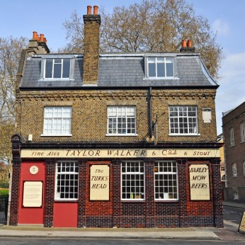 Click to view full size - Turk's Head, London(photograph number 1)