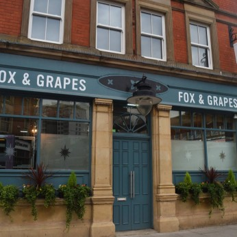 Fox & Grapes, Sneinton Market