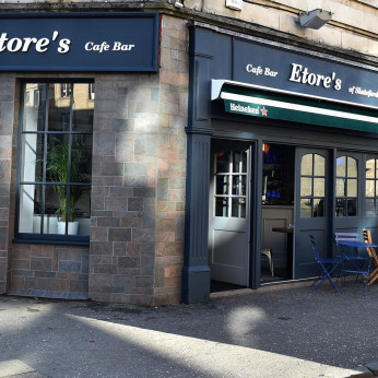 Etore's Cafe Bar, Edinburgh