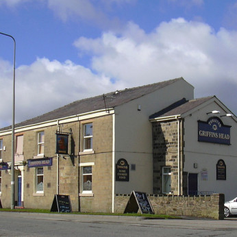 Click to view full size - Griffins Head Hotel, Accrington(photograph number 1)