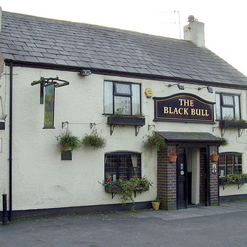Click to view full size - Black Bull Inn, Preston(photograph number 1)