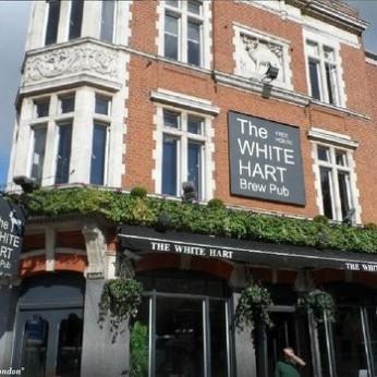 White Hart Brew Pub, London E1