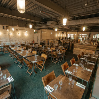 Bermondsey Yard Cafe, London SE1