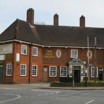 Click to view full size - Old Crown Inn, Leatherhead(photograph number 1)