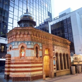 Victorian Bath House, London EC2M
