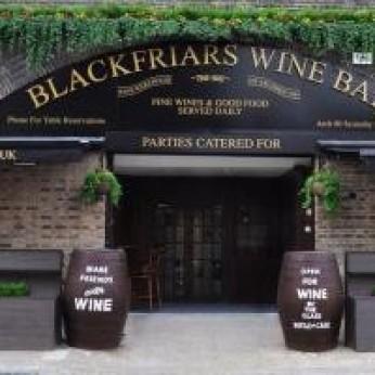 Blackfriars Wine Bar Warehouse, London SE1