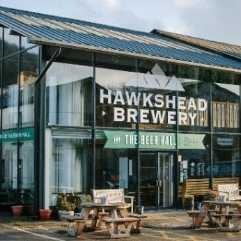 Beer Hall at Hawkshead Brewery, Staveley