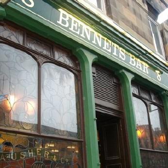 Bennets Bar, Edinburgh