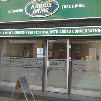 Radius Arms Micropub, Warlingham