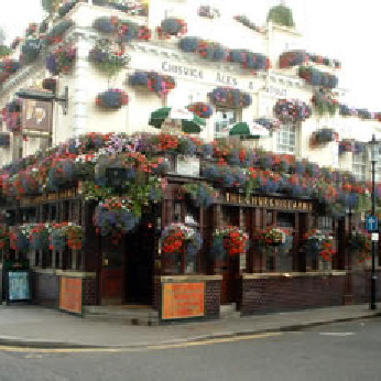 Click to view full size - Churchill Arms, London(photograph number 1)