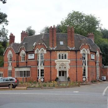 Talbot Hotel, Newnham Bridge