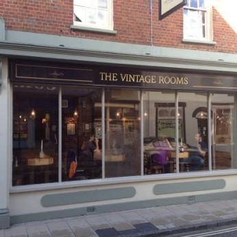 Vintage Rooms Wimborne Menu