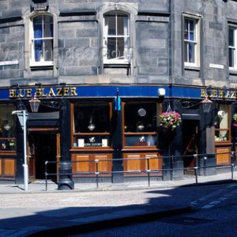 Blue Blazer, Edinburgh