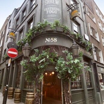 Mr Fogg's Gin Parlour, London WC2N