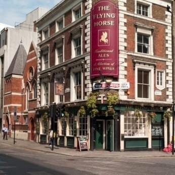 Flying Horse, London EC2A
