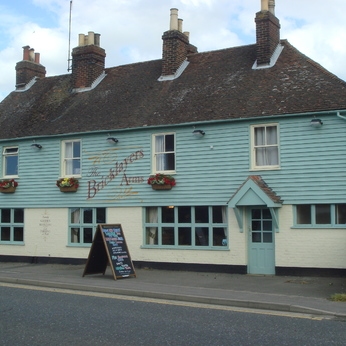 Click to view full size - Bricklayers Arms, Aylesford(photograph number 1)