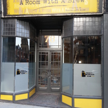 A Room With A Brew, Nottingham