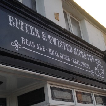 Bitter and Twisted Micropub, Coalville