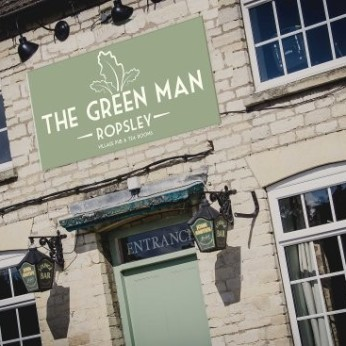 Click to view full size - Green Man, Grantham(photograph number 1)