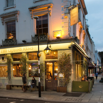 Queens Arms, London SW1V