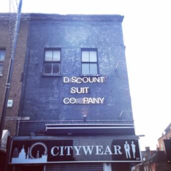 Discount Suit Company, London E1