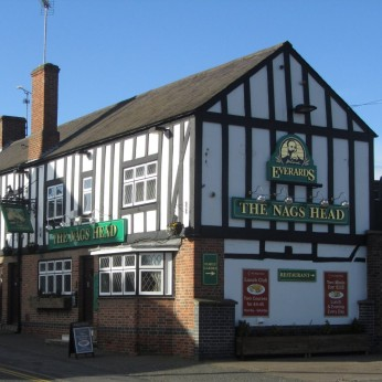 Click to view full size - Nags Head, Leicester(photograph number 1)