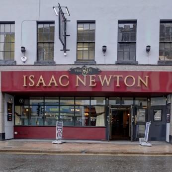 Sir Isaac Newton, Grantham