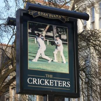 Cricketers, Pontcanna