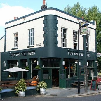 Pub On The Park, London E8