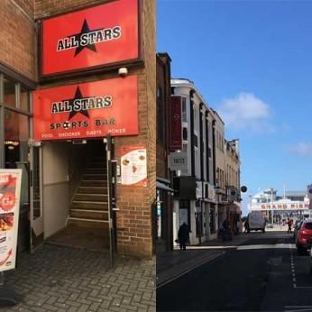 Allstars Sports Bar, Weston Super Mare