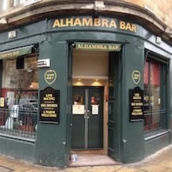 Alhambra Bar, Leith Walk