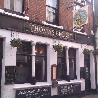 Thomas Becket, Canterbury