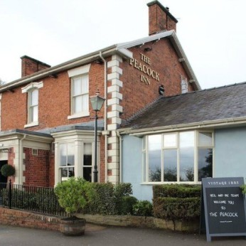 Click to view full size - Peacock Hotel, Nantwich(photograph number 1)