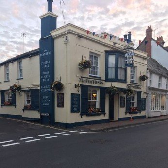 Feathers Hotel, Budleigh