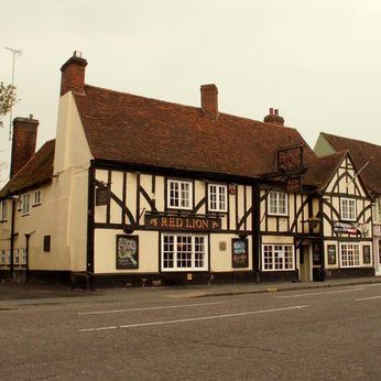 Click to view full size - Red Lion, Witham(photograph number 1)