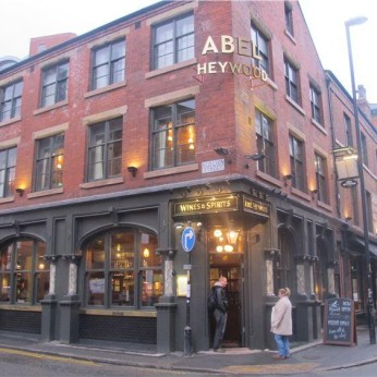 Abel Heywood, Manchester