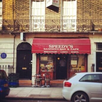 Speedy's, London NW1