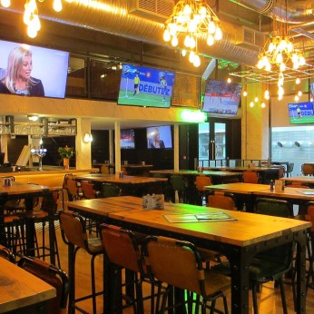 Sports Bar & Grill Canary Wharf, London E14