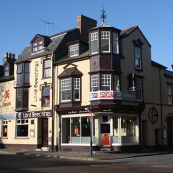 Lord Beeching, Aberystwyth