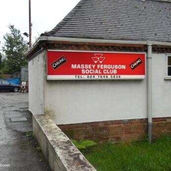 Massey Ferguson Sports & Social Club, Meriden